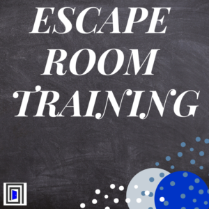 What is a team-building escape room?