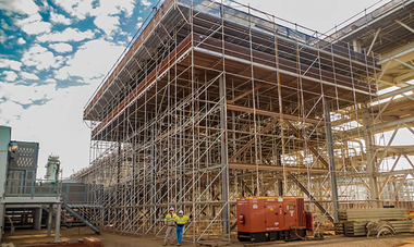 Scaffolding: a backbone of Construction